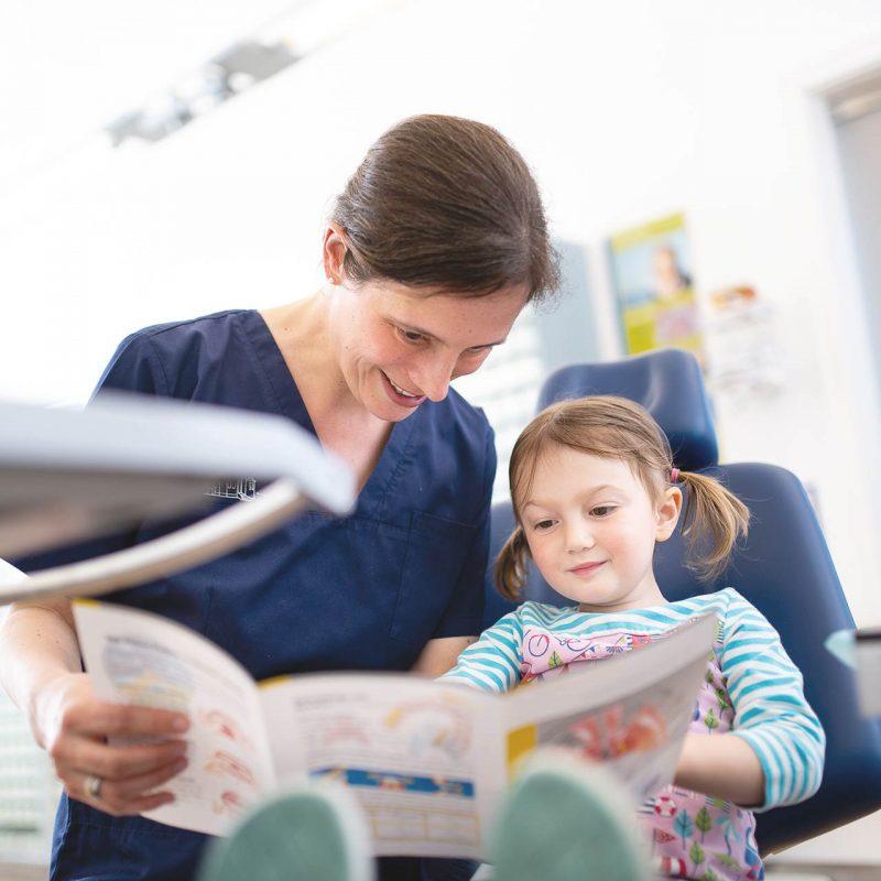 Kieferorthopädie für Kinder